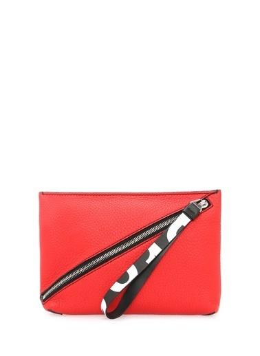 Proenza Schouler Clutch / El Çantası Kırmızı